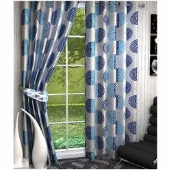 Polyester Printed Designer Curtains, For Window