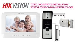 Hikvision 7 Inch Video Door Phone