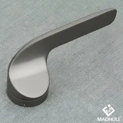 Black Glossy Finished Mortise Showroom Door Handle-07