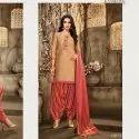 Patiyala UnStitched Salwar Suit -10 Pcs Set