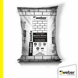 Weber Blokfix Masonry Mortar, Packaging Size: 40 kg