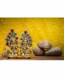 Lord Laxmi And Ganesh Statue