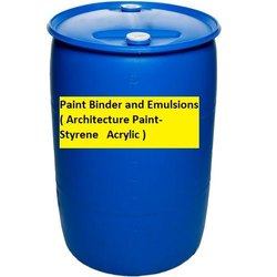 White Styrene Acrylic Emulsion Paint, Packaging Type: Drum, Packaging Size: 75L