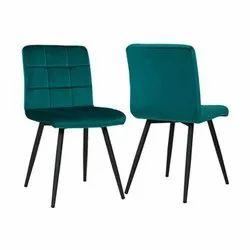 Luxurious Green Velvet Dining Chair