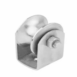 Stainless Steel SS gate will 2inch, Size: 0.5 Inch