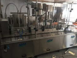 Monoblock Filling And Capping Machine
