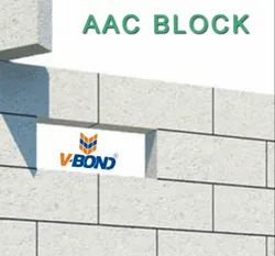 Rough Autoclaved Aerated Concrete VBOND - AAC Blocks, For Side Walls