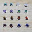 Pearl Gemstone 925 Sterling Silver New Designer Jewelry Stud Earring WS-4659