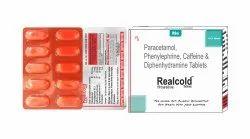 Paracetamol 325mg, Phenylephrine 5mg, Cetrizine 5mg