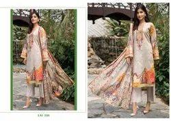Pakistani Unstitched Yashika Mahnoor Suit, Machine wash