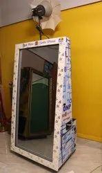 Ice Magic Mirror Photo Booth Slim Model