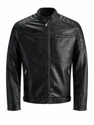 Full Sleeve Leather Mens Jackets