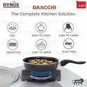 Rynox Black Ceramic Coated Non Stick Fry Pan