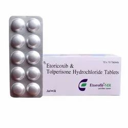Etoricoxib And Tolperisone Hydrochloride Tablet