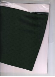 Green Rangoli Jacquard Fabric