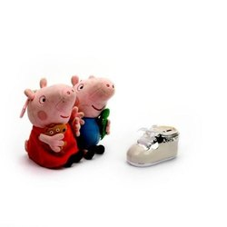 Endearing Blue Shoe Piggy Bank