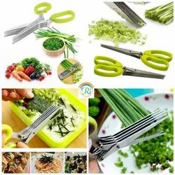 China 310 Grams Stainless Steel Kitchen Knives 5 Layers Scissors For Kitchen Use, For Vegatable