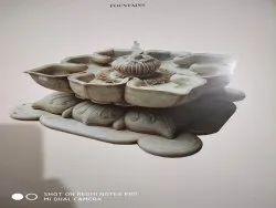 Fiber Indoor Lotus Fountain