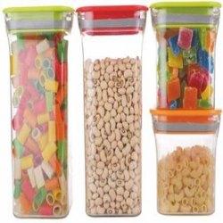 Plastic Kit Kat Air Tight Container 600ml &1100 Ml