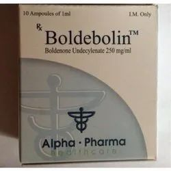 Boldenone Undecylenate 250mg Boldebolin 250 Mg INJECTION, For Muscle Building, ALPHA PHARMA