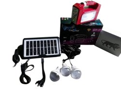 LED Solar Home Lighting System GD Choice GD-11, 3.5 Watt