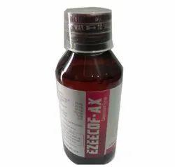 Ezeecof- Ax Cough Syrup, Bottle Size: 100 ml