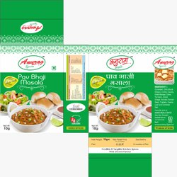 Anurag Spices Pav Bhaji Masala, Packaging Size: 10 g, Packaging Type: Packet