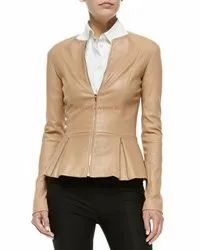 Full Sleeve Skin Gfashions Leather Jakets for women