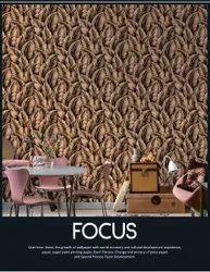 RKS Enterprises PVC Focus Wallpaper Roll