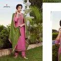 Rangoon Rangoli Solid Silk Readymade Dress 4 Pcs Set