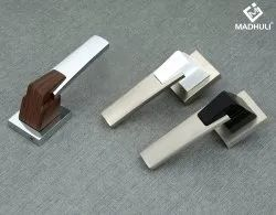 New Zinc With Different Material Half Coated Lever Handle-35