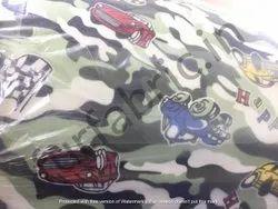 Cartoon Printed Bonding Fabric Imported