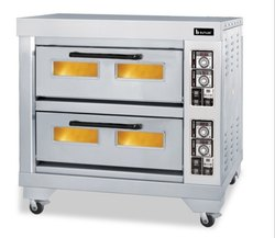 SS Double Deck Oven Electric
