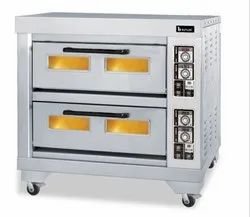 SS Double Deck Electric Oven