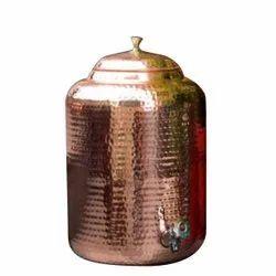 Antique Copper Matka