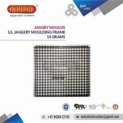 JAGGERY MOLD STAINLESS STEEL 10 GRAMS