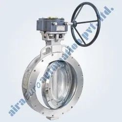Triple Eccentric Wafer Type Butterfly Valve Metal & Soft Seated