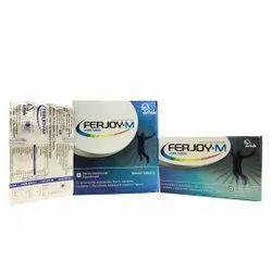 Coenzyme Q10 Astaxanitin Zinc L-Carnitine Lycopene L-Glutathione Selenium  (Ferjoy-M)