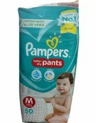 Cotton Pant Diapers Kids Pampers Pants, Size: Medium
