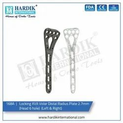 Locking XVA Volar Distal Radius Plate 2.7mm (Head 6hole) (Left & Right)