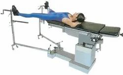 Hydraulic Operation Table (With Orthopedic Attachment)