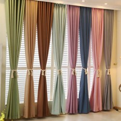 Plain Cotton Curtain Fabric
