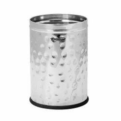 Fortune Blu Stainless Steel Hammer Dustbin ( 5 Ltr )