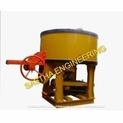 Fly Ash Brick Pan Mixer Machine