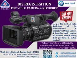 BIS Registration For Video Camera/Recorder