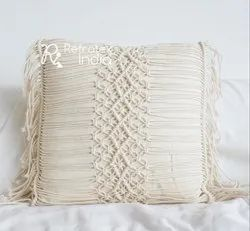 Home Decorative Macrame Cushion Cover