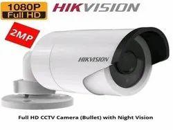 1920 x 1080 Day & Night Hikvision Bullet Camera, Camera Range: 10 to 20 m