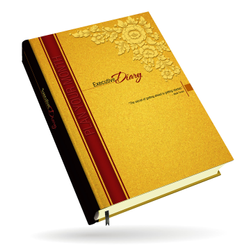 Jalan Diary Yellow Hardbound Notebook Diaries