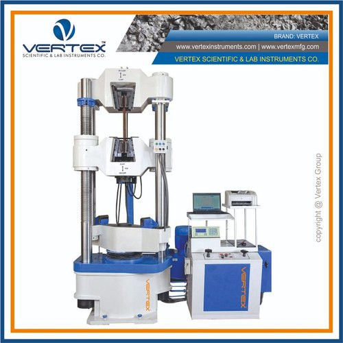 Universal Testing Machine 1000kN With Front Open Cross Head And Hydraulic Grips
