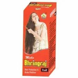 Maha Bhringraj Hair Protection And Brain Vitaliser Oil, BHPI